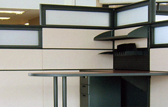 An Example Of An Office Panel System.